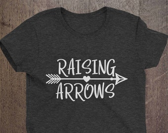 Raising Arrows T-shirt, Inspirational, Christian