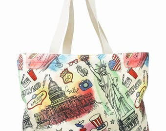 canvas tote bag, travel bag, beach bag, tote bag, canvas bag, shoulder bag, shopper, shopper bag