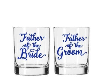 Father of the Bride Decal, Father of the Groom Decal, DIY Wedding Decal, Gift for Father, Wedding Decal, Beer Mug Decal, Wedding Dad Gifts
