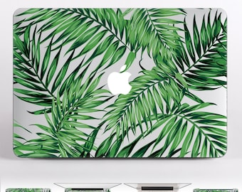 Tropical Laptop Decal MacBook Pro Case Green Mac Book Pro 2016 Skin Air 13 MacBook Stickers MacBook Decal 12 MacBook Cover DR155