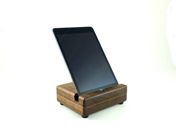 holz tablet halter ipad docking station küche ipad
