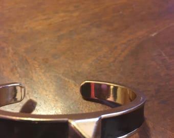 Beautiful Black and Gold Bracelet/ Bangle