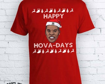 funny jay z christmas t shirt happy hova days happy holidays christmas t shirt