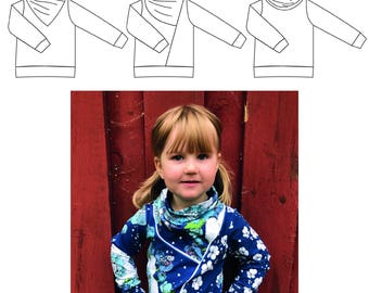 Your choice sweatshirt 56-170 PDF-pattern