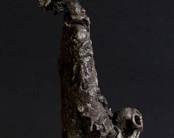 HAMLET - Media Sculpture mixed clay