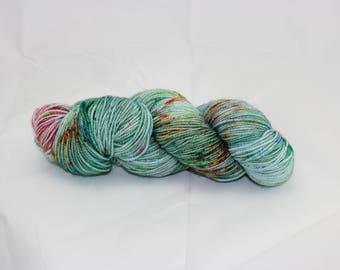 4 Ply fine merino sock yarn - Oriental Dreams