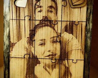 Picture on Wood Puzzle