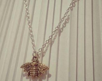 Elegant Bee Necklace