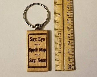 Cute Saying Keychain