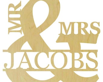 Mr. and Mrs. Wooden name