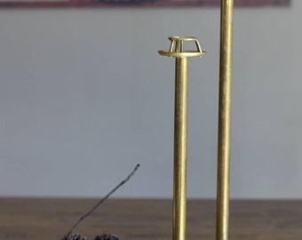 Mid-Century Brass Candlesticks by Frederick Cooper