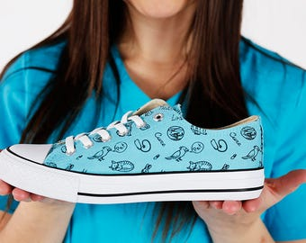 Veterinary Shoes - Free Shipping US/CA! Fashion Sneakers For Veterinarians- the perfect shoes to show your uniqueness.