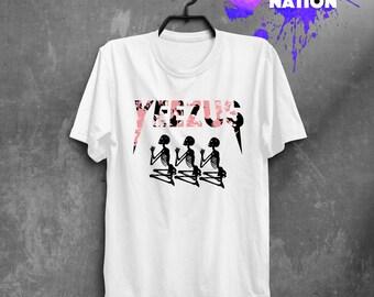 Tee Kanye West Yeezus Shirt Kanye West Tshirt Life of Pablo shirt Yeezy season I feel like Pablo Kanye west clothing Unisex Rap shirt BFT027