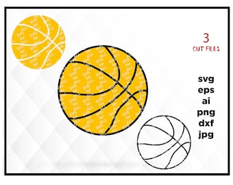 BasketBall Ball Svg, Sports Ball Svg, use with Cricut & Silhouette,  SVG, Cut File, Vector, Cricut Files, Silhouette Files, Cameo, T-shirt
