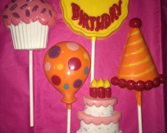 Made to Order Birthday and Celebration Lollipops