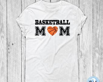 Basketball Mom SVG PNG DXF Eps Cutting Files - Basketball Mama Clipart - Sports Mom Svg - Love Basketball Svg - Basketball Svg Cut File