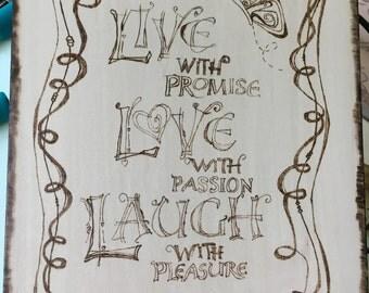 Live, Love, Laugh