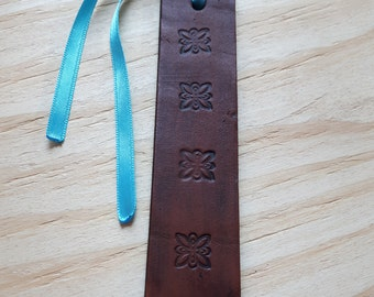 Symbol Bookmark, Bookmark, Leather Bookmark, Celtic Bookmark