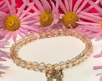 "Bracelet ""Golden jewel"" citrine"