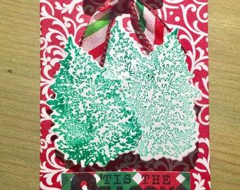 Christmas Gift Card Holder: Tis The Season (Variety Packs Available)