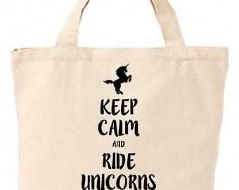 Ride Unicorns Tote Bag