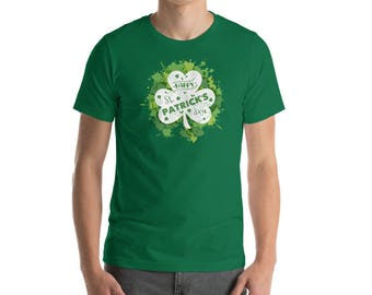 St. Patrick's Day 2018. Happy st. Patrick's day. Short-Sleeve Unisex T-Shirt