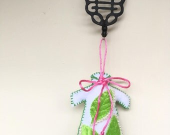 Qipao ornament
