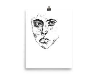 See Through // Art Print