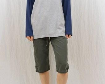 Vintage Spider Shirt, Spider Web, 90's Clothing, Y2K, Skater, Raglan Sleeve, Unisex, Open Fit, Tribal Tattoo Shirt, Long Sleeve Shirt