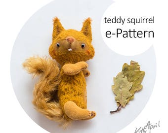 e-Pattern - Teddy Squirrel 13cm