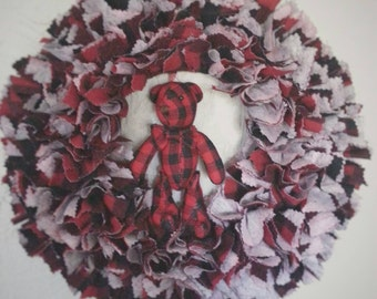 Buffalo Plaid, Buffalo Plaid Decor, Buffalo Plaid Wreath, Buffalo Check, Winter Wreath, Winter Door Wreath, Winter Wall Decor, Cabin Wreath