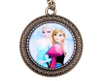 ELSA and ANNA necklace, 2525C