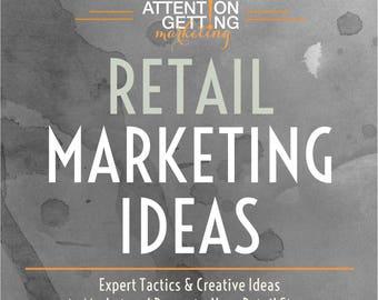 Retail Store Marketing Ideas Ebook