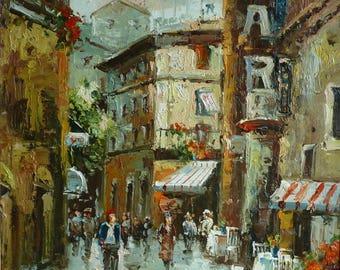 Impression original painting Paris  Ledoux