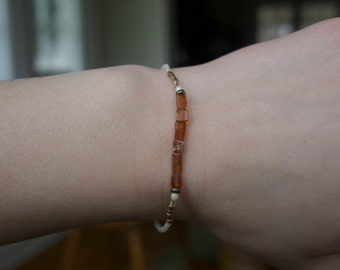 November Birthstone Bracelet (Citrine)