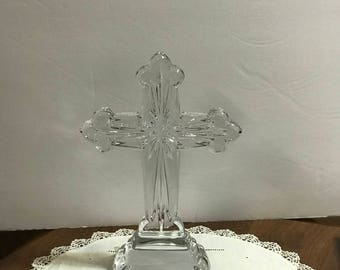 Crystal Cross Statue