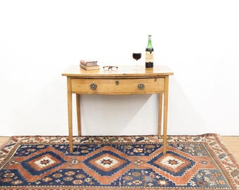 Pine Bow Front Table