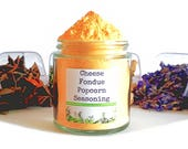 Cheese Fondue Gourmet Popcorn Seasoning Spice Mix Topping Flavoring Glaze Coating Foodie Gift