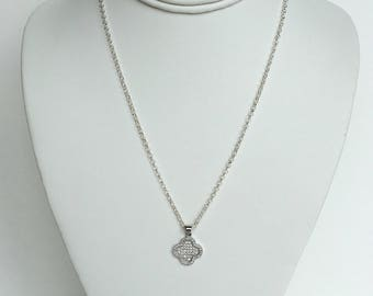 Charm Necklace in the Style of Van Cleef & Arpels
