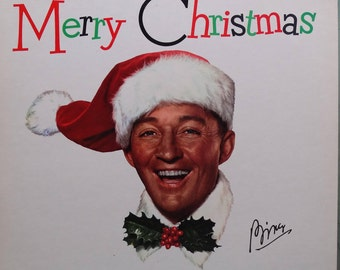 Bing Crosby –Merry Christmas 1973 Featuring The Andrews Sisters ( LP, Album, Vinyl Record ) Pop, Christmas, Holiday Music