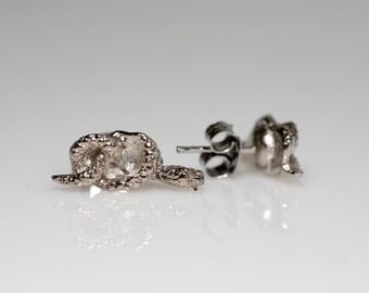 Pretzel Snake Earrings