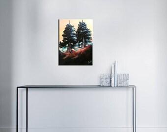 Acrylic paint - layering