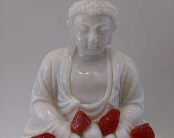Carnelian 10 grams, reiki, chakra stone, sacred, healing stone meditation deposit Uruguay