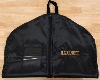 garment bag suit bag hanging clothes bag monogrammed gift travel