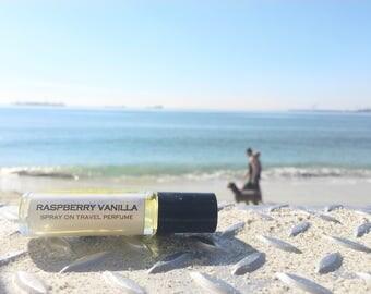 RASPBERRY VANILLA Roll on Perfume || Long lasting perfume || vegan || gift for her || birthday gift