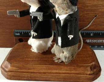 Taxidermy Pulp Rodents