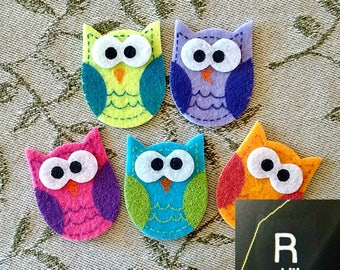 2 Owl XRAY MARKERS, Fast Shipping and Processing, 1-3 Initials, Great for Pediatrics