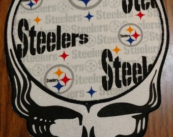Steal your Steelers patch, large