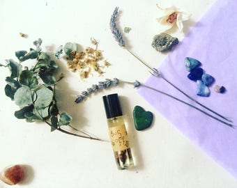 BugOff - Pocket Perfume - Natural Insect Repellent - Herbs & Oils - Artisan Aromatherapy Roller-ball Healing Scent