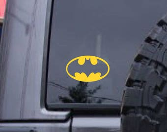 Batman decal, Super hero decal, FREE SHIPPING, vinyl decal, car decal, window sticker, decal sticker, laptop decal #122